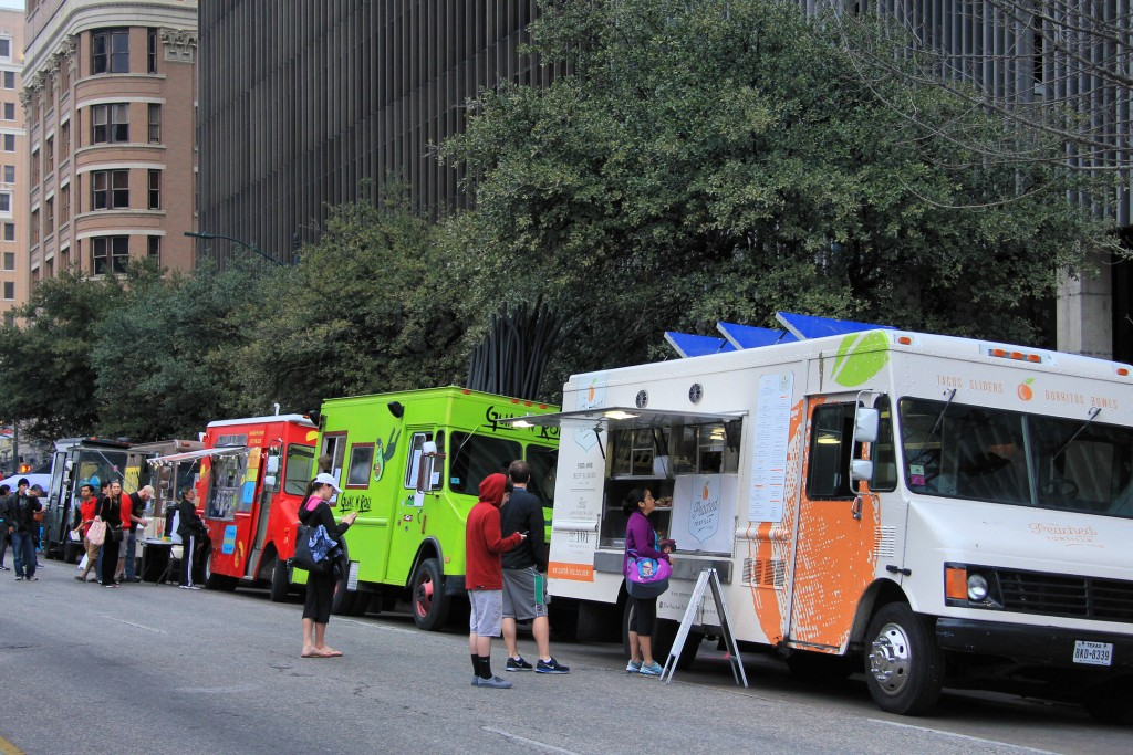 Austin is known for its incredible food truck scene.